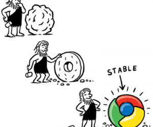 Google Chrome stable, par Christoph Niemann