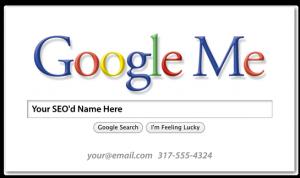 Google Me card