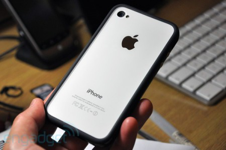 iPhone 4 blanc arrière