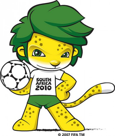 Zakumi : Coupe du monde 2010