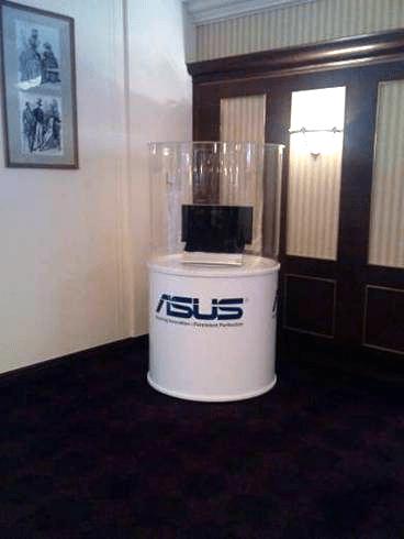 Asus NX90 sous cloche