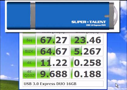 Clé USB 3 SuperTalent