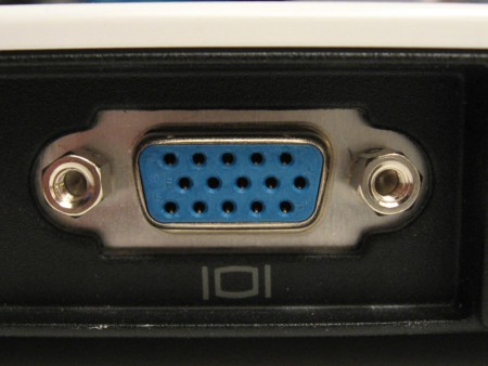 Le port VGA