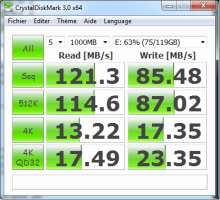 Test de l'USB 3 sur un portable
