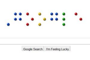 Google Doodle Louis Braille