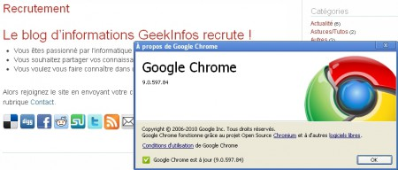 Google Chrome v9