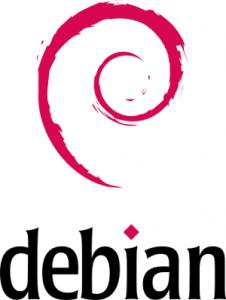 Logo de la distribution linux Debian