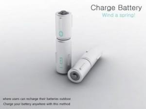 Piles rechargeables mécaniquement