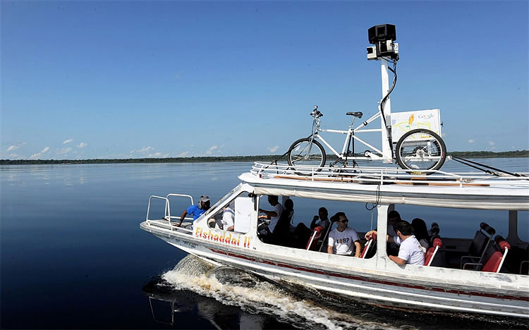 Google Street View en Amazonie
