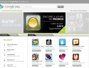 Google Play en ligne