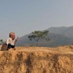 Chandra Bahadur Dangi, le plus petit homme de la Terre. Il mesure 56 centimètre à 72 ans