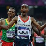 Mohamed Farah et sa seconde médaille en or