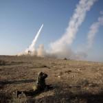 La milice d'Israël lance un missile pour intercepter des roquettes à courte portée