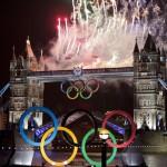 Un feu d'artifices pour l'ouverture des JO de Londres