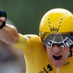 Bradley Wiggins, le premier britannique à gagner le Tour de France
