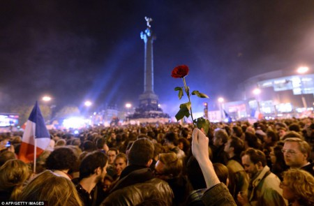 Les partisans du PS en mai dernier, place de la Bastille