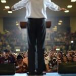 Les fervents fans de Mitt Romney, en octobre