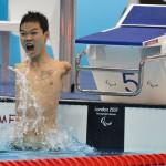 China's Zheng Tao établi un nouveau record du monde pour la Chine