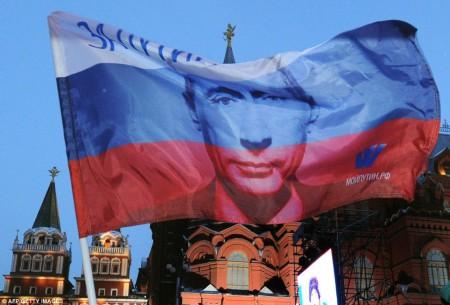 La victoire de Poutine en mars