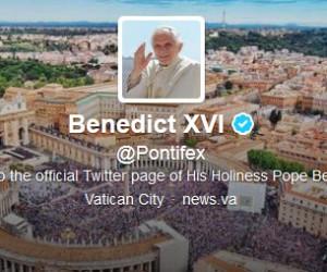 compte twitter benoit XVI