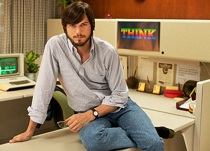 Ashton Kutcher est Steve Jobs
