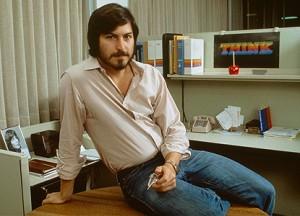 Jeune Steve Jobs