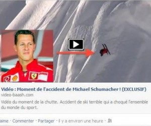 La vidéo de Schumacher contient un virus