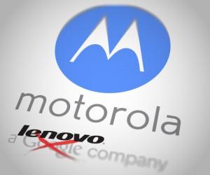 Motorola dans les mains de Lenovo