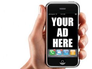 La publicité sur mobile