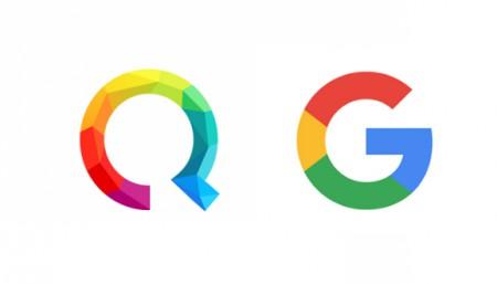 Logo Google et Qwant