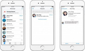 Facebook - Demandes de messages (Message Requests)