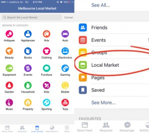 Facebook : Local Market