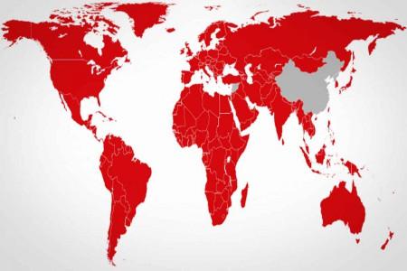 carte netflix monde