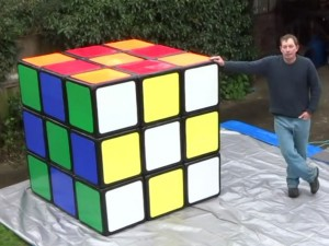 Le plus grand Rubik's Cube au monde