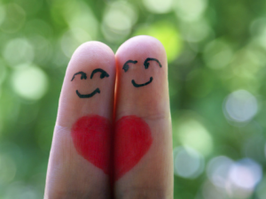 deux doigts coeur