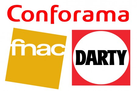 conforama, La Fnac et Darty