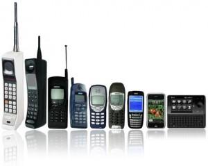 Evolution des téléphones/smartphones
