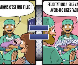accouchement facebook