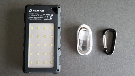 Batterie EPOW 8000mAh Solaire