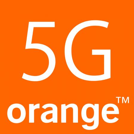 Orange Logo 5G