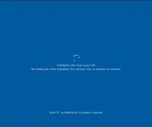 Windows 10 : mise à jour