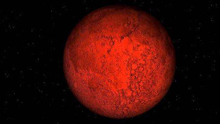 éclipse lunaire rouge