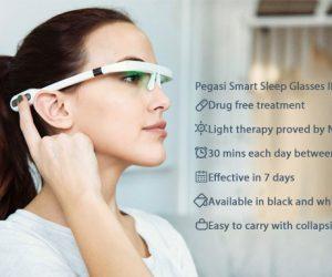 Pegasi : les lunettes d'aide au sommeil