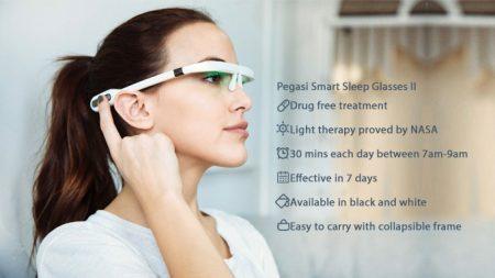 Pegasi Smart Sleep Glasses II : les lunettes d'aide au sommeil