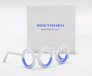 Seetroën : les lunettes anti mal des transports par Citroën