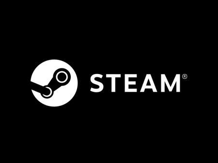 logo jeux vidéo Steam