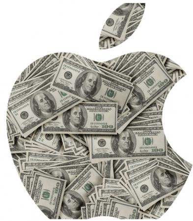 Apple Logo pomme 1 billion de dollars