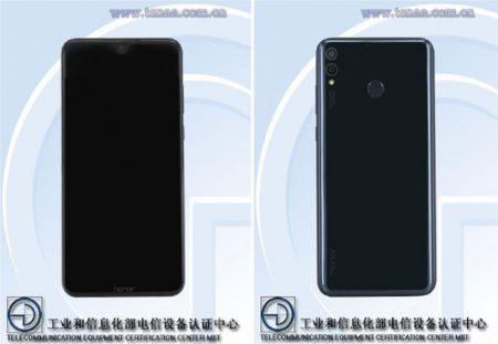 Honor 8X TENAA