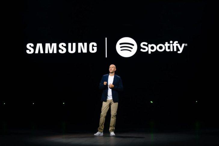 Spotify et Samsung