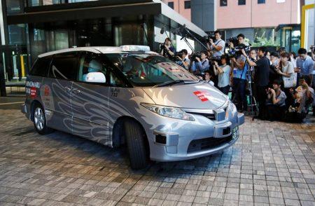 Taxi autonome à Tokyo